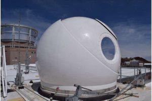 OGS-2 optical telescope dome. Credits: NASA